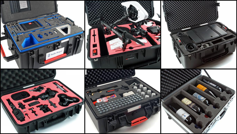 Rufo skreddersyr skuminnredning til alle typer kostbart utstyr.